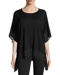 810e77b52f0 Black Chiffon Tunics for Women | Women's Fashion | Lookastic.com