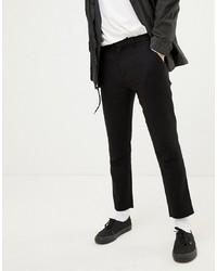 Weekday Arvid Tapered Trousers Grey Melange Melange