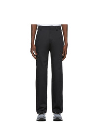 AFFIX Black Basic Trousers