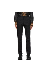 Ermenegildo Zegna Black Casual Trousers