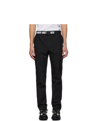 Fendi Black Cotton Trousers