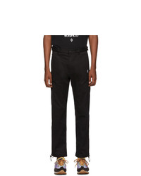 Marcelo Burlon County of Milan Black Cross Trousers