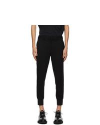Neil Barrett Black Cuff Trousers