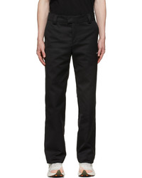 Soulland Black Everet Trousers