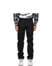 Burberry Black Ezra Trousers