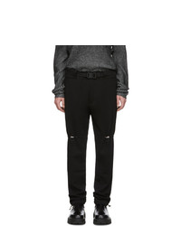 1017 Alyx 9Sm Black Gaiter Trousers