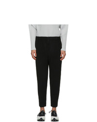 Homme Plissé Issey Miyake Black Monthly Colors January Trousers
