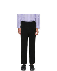 Homme Plissé Issey Miyake Black Monthly Colors November Trousers