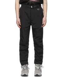 C2h4 Black My Own Private Planet Paneled Track Trousers