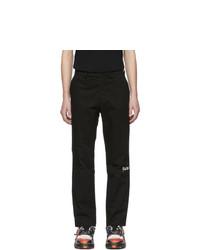 Rochambeau Black Pipe Trousers