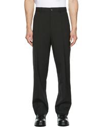 Valentino Black Regular Fit Trousers