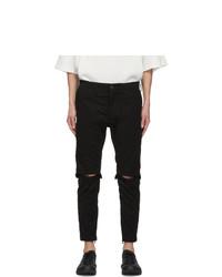 Julius Black Twill Trousers