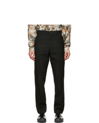 Acne Studios Black Twill Trousers
