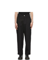 EDEN power corp Black Vort Trousers