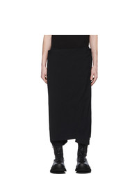 Julius Black Wrap Trousers