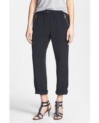 Calvin Klein Roll Tab Cuff Pants Black Size Small Small