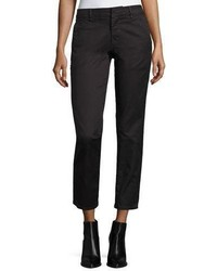 Vince Classic Twill Crop Chino Pants