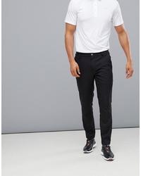 Puma Golf Tailored Tech Trousers In Black
