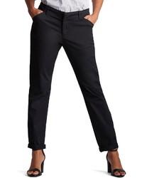 Lee Petite Essential Straight Leg Chino Pants