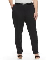 croft & barrow Plus Size Tapered Chino Pants