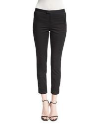 Stretch twill slim fit pants black medium 440525