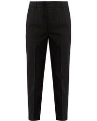 Vince Cuffed Cotton Blend Chino Trousers