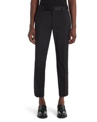 Versace Wool Mohair Tuxedo Pants