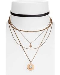 Multstrand choker necklace medium 5170638
