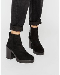 6ceac40c9dc Women's Black Chunky Ankle Boots from Asos | Women's Fashion ...