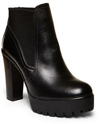 Steve Madden Amandaa Platform Leather Ankle Booties