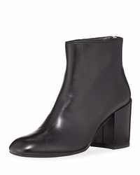 Bacari napa chunky heel bootie medium 5261974