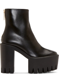 Stella McCartney Black Platform Kristy Boots