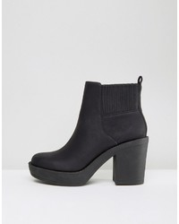 13a631dfaed1 ... Asos Enchanter Chunky Ankle Boots ...