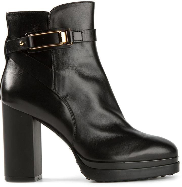 De Moda Tod's high ankle lace up boots - Black farfetch neri Pelle Compras En Línea De Alta Calidad Venta Barata Wiki Paquete De Cuenta Regresiva Precio Barato DzduDqTml