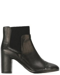 Roberto Del Carlo Chunky Heel Ankle Boots