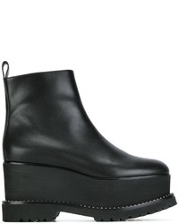 Givenchy Studded Wedge Ankle Boots