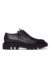 Givenchy Black Combat Zipped Derbys