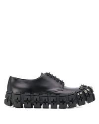 Prada Chunky Studded Derby Shoes