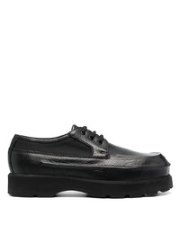 Acne Studios Round Toe Leather Derby Shoes