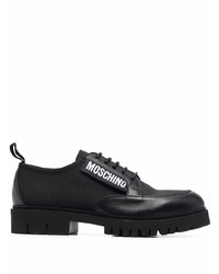 Moschino Side Logo Patch Loafers
