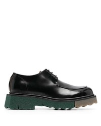 Off-White Sponge Sole Leather Derby Shoes