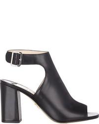 Prada Chunky Heel Halter Strap Sandals