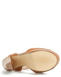 592658e238a ... Steve Madden Gingeer Leather Platform Sandal ...