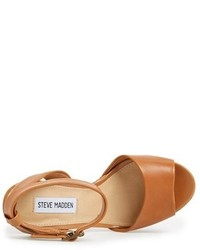 0584f2f9791 ... Steve Madden Gingeer Leather Platform Sandal