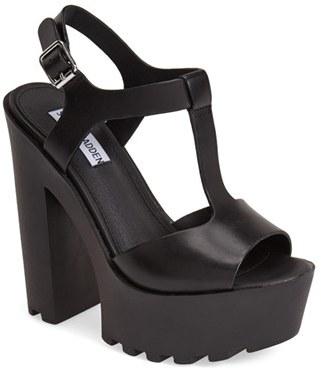4e26b62df20 $99, Steve Madden Girltalk Leather Platform Sandal