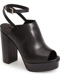 66dcccced56 ... Topshop Sagittarius Leather Ankle Strap Open Toe Platform Sandal