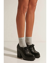 Forever 21 Eeight Erin Platform Boots