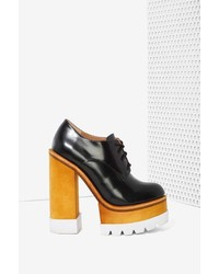 Jeffrey Campbell Killacky Leather Platform Booties