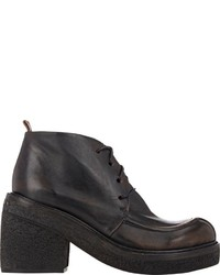 Marsèll Chunky Heel Ankle Boots Black