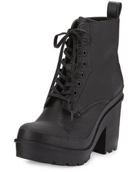Original Grainy Leather Lace Up Boot